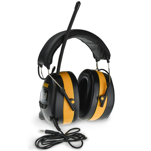 Dewalt DPG15 AM/FM Digital Tune Ear Muff with AUX Connection image number 0