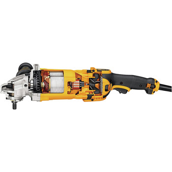 Factory Reconditioned Dewalt DWE4599NR 9 in. 6,500 RPM 4.9 HP Angle Grinder with No Lock-On image number 8
