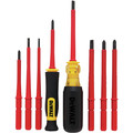Dewalt DWHT66417 8 Piece Vinyl Grip Insulated Screwdriver Set image number 3