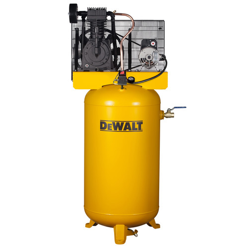 Dewalt DXCMV5048055 5 HP 80 Gallon TOPS Two Stage Oil-Lube Industrial Air Compressor with System Panel image number 0