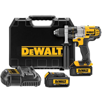 Factory Reconditioned Dewalt DCD980M2R 20V MAX Lithium-Ion Premium 3-Speed 1/2 in. Cordless Drill Driver Kit (4 Ah)