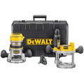 Dewalt DW616PK 1-3/4 HP 120V Fixed Base and Plunge Router Combo Kit