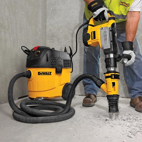Dewalt Dust Extractor >> Dewalt Dwh053k Hammer Chipping Dust Extractor Attachment Kit