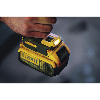 Factory Reconditioned Dewalt DCF899P2R 20V MAX XR Cordless Lithium-Ion 1/2 in. Brushless Detent Pin Impact Wrench with 2 Batteries image number 3