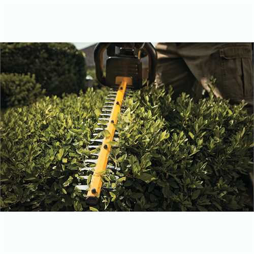 Factory Reconditioned Dewalt DCHT860BR 40V MAX Cordless Lithium-Ion 22 in. Hedge Trimmer (Tool Only) image number 2