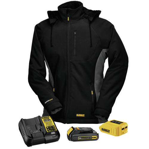 Dewalt DCHJ066C1-L 20V MAX Li-Ion Women's Heated Jacket Kit - Large image number 0