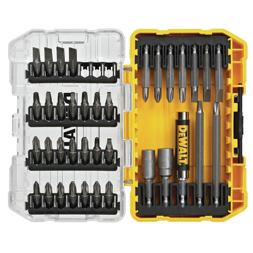 Dewalt DW2163 37-Piece Screwdriving Bit Set with Tough Case image number 0