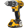 Factory Reconditioned Dewalt DCD791D2R 20V MAX XR Lithium-Ion Brushless Compact 1/2 in. Cordless Drill Driver Kit (2 Ah) image number 1