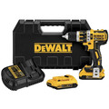 Factory Reconditioned Dewalt DCD795D2R 20V MAX XR Lithium-Ion Brushless Compact 1/2 in. Cordless Hammer Drill Kit (2 Ah) image number 0