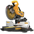 Dewalt DHS790AT2DWX723 120V MAX FlexVolt 12 in. Dual Bevel Sliding Compound Miter Saw Kit with Heavy-Duty Miter Saw Stand image number 5