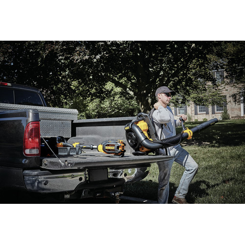 Dewalt DCBL590X2 40V MAX Cordless Lithium-Ion XR Brushless Backpack Blower Kit with 2 Batteries image number 6