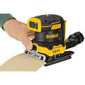 Dewalt DCW200B 20V MAX XR Brushless Lithium-Ion 1/4 Sheet Cordless Variable Speed Sander (Tool Only) image number 5