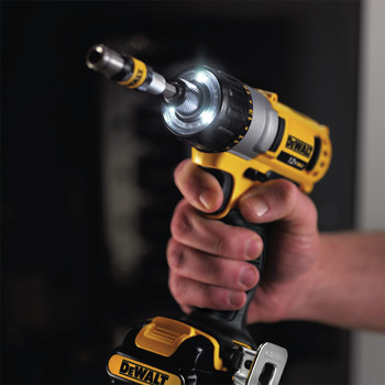 Factory Reconditioned Dewalt DCF610S2R 12V MAX Cordless Lithium-Ion 1/4 in. Hex Chuck Screwdriver Kit image number 7
