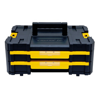 Dewalt DWST17804 TSTAK-4 2-Drawer Stackable Organizer image number 0