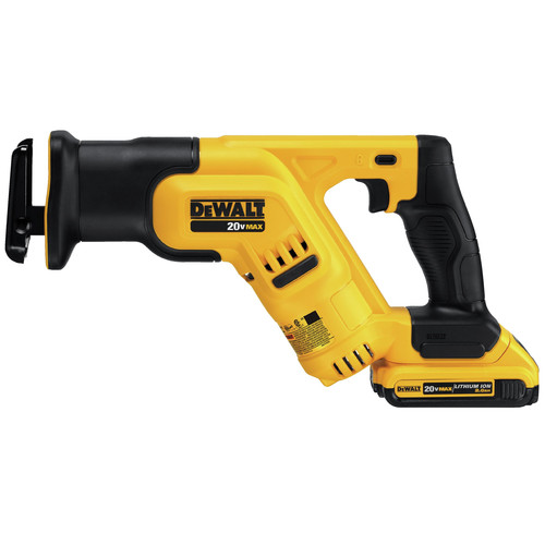 Factory Reconditioned Dewalt DCS387D1R 20V MAX Cordless Lithium-Ion Compact Reciprocating Saw Kit image number 1