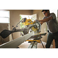 Dewalt DHS790AT2DWX723 120V MAX FlexVolt 12 in. Dual Bevel Sliding Compound Miter Saw Kit with Heavy-Duty Miter Saw Stand image number 16