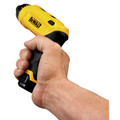 Dewalt DCF680N2 8V MAX Cordless Lithium-Ion Gyroscopic Screwdriver Kit with 2 Compact Batteries image number 7