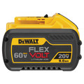 Dewalt DCB609 20V/60V MAX 9.0Ah Cordless Lithium-Ion FlexVolt Battery