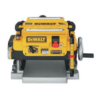 Dewalt DW735 13 in. Two-Speed Thickness Planer image number 1