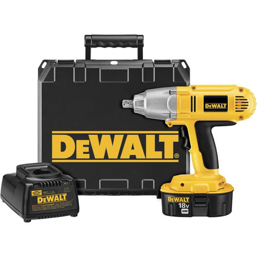 Dewalt DW059K-2 18V XRP Cordless 1/2 in. Impact Wrench Kit