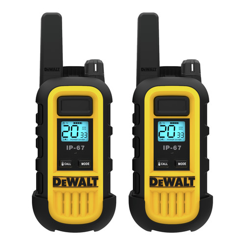 Dewalt DXFRS300 1 Watt Heavy Duty Walkie Talkies (Pair) image number 0