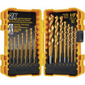 Dewalt DW1361 21 Pc Titanium Pilot Point Drill Bit Set image number 1