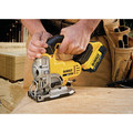 Dewalt DCS331M1 20V MAX Lithium-Ion 3000 SPM Cordless Jigsaw Kit (3 Ah) image number 4