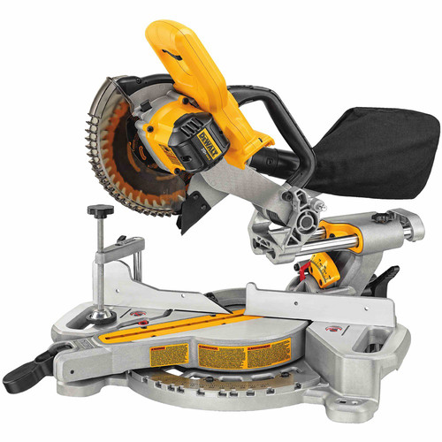 Factory Reconditioned Dewalt DCS361BR 20V MAX Lithium-Ion 7-1/4 in. Compound Miter Saw (Tool Only) image number 0