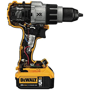 Dewalt DCD996P2 20V MAX XR Lithium-Ion Brushless 3-Speed 1/2 in. Cordless Hammer Drill Kit (5 Ah) image number 4
