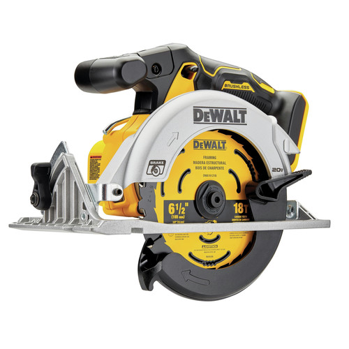 Dewalt DCS565B 20V MAX Brushless Lithium-Ion 6-1/2 in. Cordless Circular Saw (Tool Only) image number 0