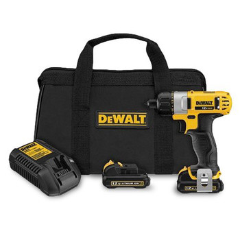 Factory Reconditioned Dewalt DCF610S2R 12V MAX Cordless Lithium-Ion 1/4 in. Hex Chuck Screwdriver Kit image number 0
