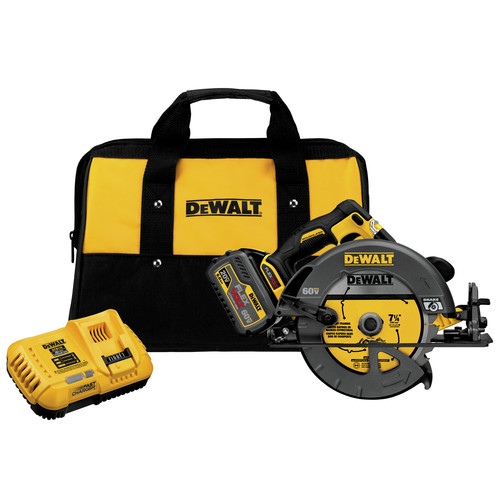 Dewalt DCS575T1 60V MAX Cordless Lithium-Ion 7-1/4 in. Circular Saw Kit with FLEXVOLT Battery