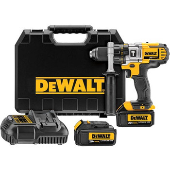 Dewalt DCD985M2 20V MAX Lithium-Ion Premium 3-Speed 1/2 in. Cordless Hammer Drill Kit (4 Ah) image number 0