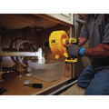 Dewalt DCD200D1 20V MAX XR 2.0 Ah Cordless Lithium-Ion Brushless Drain Snake Kit image number 4