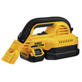 Dewalt DCV517M1 20V MAX 1/2 Gallon Wet/Dry Portable Vac Kit image number 1