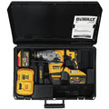 Dewalt DCH293X2 20V MAX XR Brushless 1-1/8 in. L-Shape SDS Plus Rotary Hammer Kit with 9.0ah image number 1