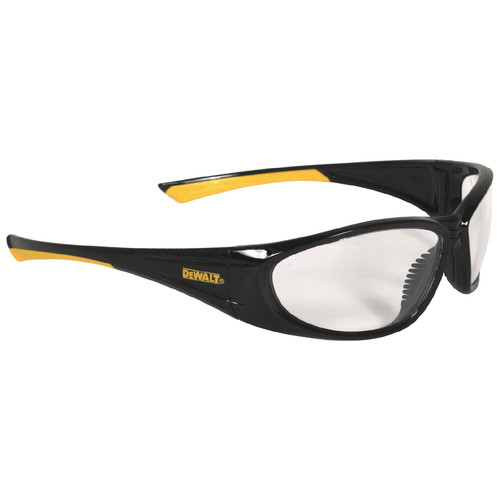 Dewalt DPG98-1C Gable Safety Glass Clear Lens with Non-Slip Nose Piece