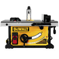 Dewalt DWE7491RS 10 in. 15 Amp  Site-Pro Compact Jobsite Table Saw with Rolling Stand image number 3