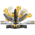 Dewalt DHS790AT2DWX723 120V MAX FlexVolt 12 in. Dual Bevel Sliding Compound Miter Saw Kit with Heavy-Duty Miter Saw Stand image number 8