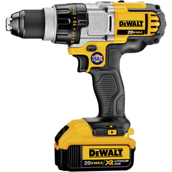 Dewalt DCD980M2 20V MAX Lithium-Ion Premium 3-Speed 1/2 in. Cordless Drill Driver Kit (4 Ah) image number 1