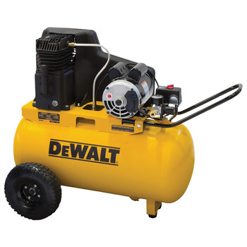 Dewalt DXCMPA1982054 1.9 HP 20 Gallon Oil-Lube Horizontal Air Compressor