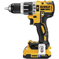 Dewalt DCK287D2 20V MAX XR 2.0 Ah Cordless Lithium-Ion Brushless Hammer Drill & Impact Driver Combo Kit image number 1