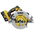 Dewalt DCS574W1 20V MAX XR Brushless Lithium-Ion 7-1/4 in. Cordless Circular Saw with POWER DETECT Tool Technology Kit (8 Ah) image number 1