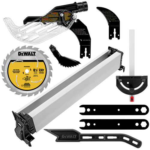 Dewalt DCS7485T1 60V MAX FlexVolt Cordless Lithium-Ion 8-1/4 in. Table Saw Kit with Battery image number 1