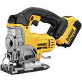 Dewalt DCS331M1 20V MAX Lithium-Ion 3000 SPM Cordless Jigsaw Kit (3 Ah) image number 1