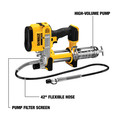 Dewalt DCGG571B 20V MAX Lithium-Ion Cordless Grease Gun (Tool Only) image number 4