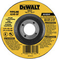 Dewalt DW8437 7 in. x 1/8 in. A24R High Performance Pipeline Grinding Abrasives (10-Pack)