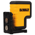 Dewalt DW08302 Red 3 Spot Laser Level (Tool Only) image number 1