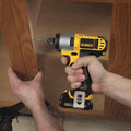 Dewalt DCF815S2 12V MAX Cordless Lithium-Ion 1/4 in. Impact Driver Kit image number 3