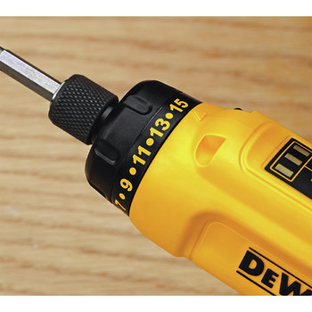 Factory Reconditioned Dewalt DCF680N2R 8V MAX Cordless Lithium-Ion Gyroscopic Screwdriver Kit with 2 Compact Batteries image number 11